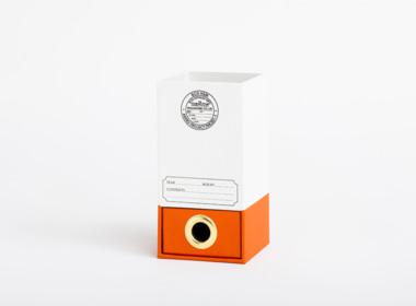 ダブルボトム エマ ホワイト-オレンジ