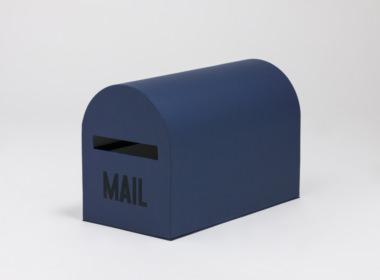 テーブルウェアクローゼット メールボックス ネイビー L