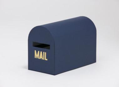 テーブルウェアクローゼット メールボックス ネイビー S