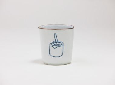 テーブルウェアクローゼット カップ キャンドル ブラウン L