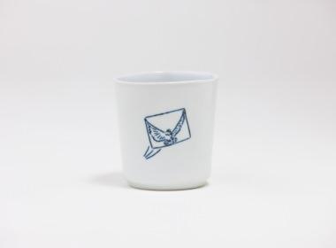 テーブルウェアクローゼット カップ ハト デパーチュア レター クリア L