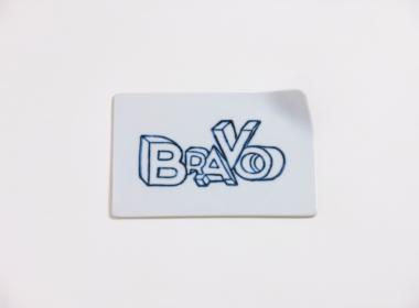 テーブルウェアクローゼット レタープレート ブラボー クリア S