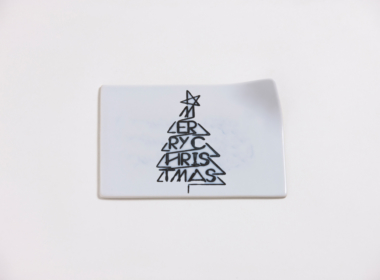 テーブルウェアクローゼット クリスマスレタープレート メリークリスマス クリア S