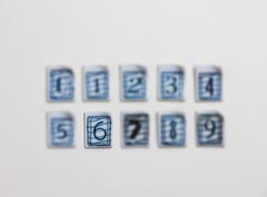 テーブルウェアクローゼット スタンプカトラリーレスト Number : 6