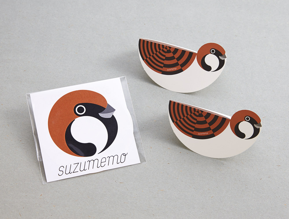 「suzumemo」(メッセージカード)