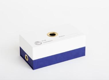 ダブルボトム ファビアン ホワイト-パープル