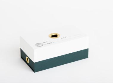 ダブルボトム ファビアン ホワイト-ダークグリーン