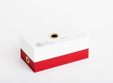 ダブルボトム ファビアン ホワイト-レッド