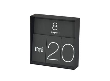 イナフ 万年カレンダー ブラック