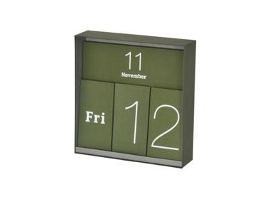 イナフ 万年カレンダー グリーン