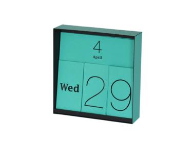 イナフ 万年カレンダー ブルー