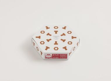 六角形のネジチョコケース