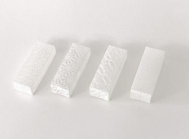 透明和紙の箱